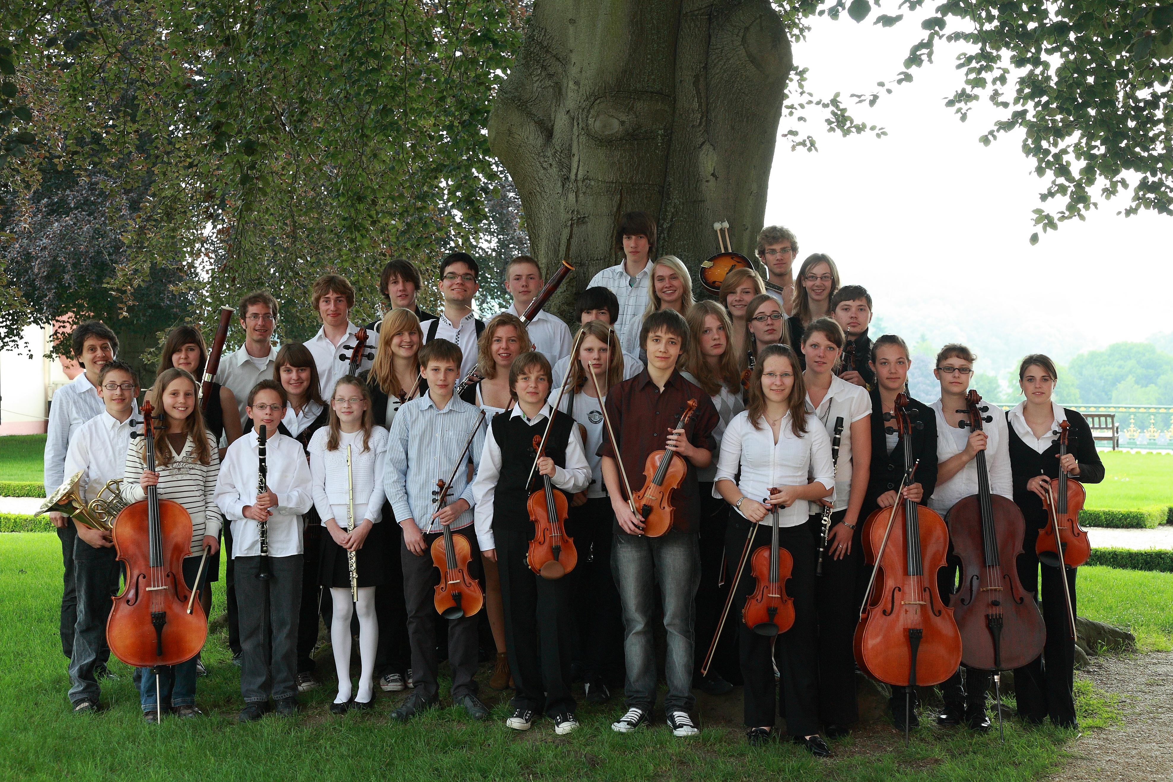 Schulorchester des Gymnasium Philippinum Weilburg im Jahr 2009 (Ltg. Martin Weinbrenner)